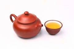 set tea för porslin Arkivbilder