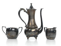 set tea för antikvitet Royaltyfria Foton
