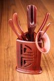 Set of tea tools Stock Photos