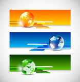 Set of tech banners Stock Image