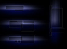 set tech för logo Arkivfoton