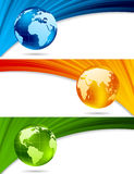 Set of technical banners Stock Image