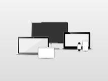 Set technologia i urządzenia Zdjęcie Royalty Free