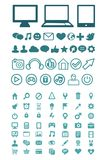 Set of  technology icons Stock Image