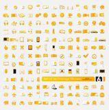 Set of technology stickers Royalty Free Stock Photography