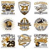 Set of tee shirt print designs. Set of Grunge Sport t-shirt graphic designs,  Vintage Sport print stamps, Sports wear typography emblems, Creative design, Vector Stock Photos