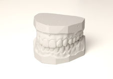 Set of teeth Stock Images
