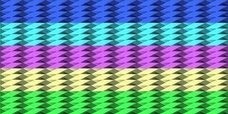 Set tekstury od delikatnych trójboków Fotografia Royalty Free