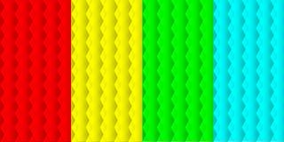 Set tekstury od trójboków Fotografia Stock