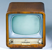 set television för antikvitet Royaltyfri Foto