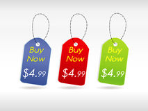 Set of template banner. Illustration Royalty Free Stock Photos