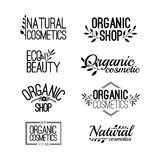 Set of template for design logos, stamps, stickers Stock Photography