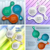 Set template number steps Presentation Powerpoint02 Stock Images