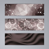 Set of templates for banners Royalty Free Stock Image