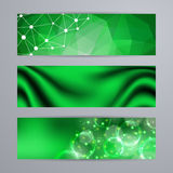 Set of templates for banners Stock Photos