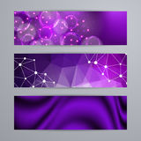 Set of templates for banners Stock Photography