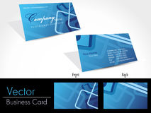 Set of templates for business cards. stock illustration