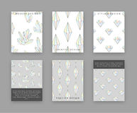 Set templates for printing with crystals and diamonds. Rhinestones doodle Stock Photo