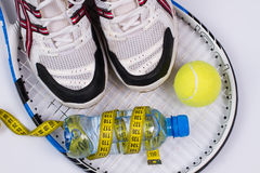 Set for tennis. Royalty Free Stock Photos