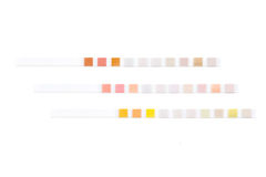 Set of test strips Royalty Free Stock Image