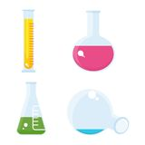 Set of test tube Stock Images