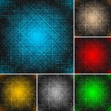 Set of textural backgrounds (eps 10) Royalty Free Stock Photos