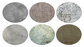 Set of texture concrete. Stock Image