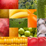 Set texture of natural food Royalty Free Stock Images