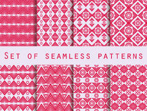 Set the texture seamless in ethnic style. Tribal seamless textur Royalty Free Stock Photo