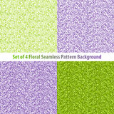 Set Textured Natural Seamless Patterns Backgrounds Royalty Free Stock Images