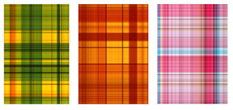 Set - textures of a bright fabric Stock Image