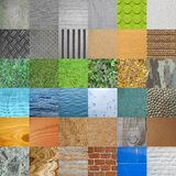 Set of textures Royalty Free Stock Image