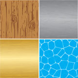 Set of  textures for your design Royalty Free Stock Image