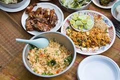 Set of Thai food Stock Photos