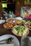 Set of Thai food Royalty Free Stock Image