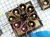 Set thai herb for make Herb salts Royalty Free Stock Photos