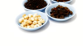 Thai Spices for Cooking, Thai Herbs For Cooking stock photo
