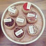 Set of thai spices Stock Photos