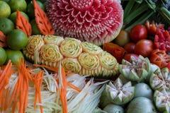 Set of thai vegetable Royalty Free Stock Photo