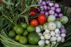 Set of thai vegetable Stock Photo