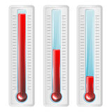 Set of thermometer Royalty Free Stock Image