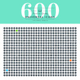 Set of thin line web icons for website and app design Stock Photo