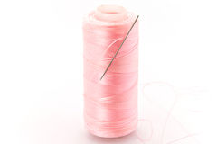 Set of thread and needle. Royalty Free Stock Images