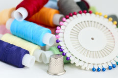 Set of threads Royalty Free Stock Image