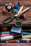 Set of threads Royalty Free Stock Photography
