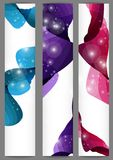 Set Of Three Banners. Vector Illustration. Eps 10 stock illustration