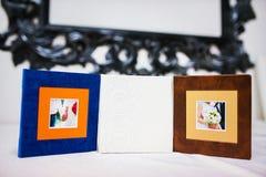 Set of three CD box Stock Images