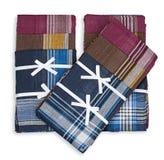 Set of three handkerchiefs Royalty Free Stock Photography