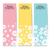 Set Of Three Oriental Style Vertical Banners. Royalty Free Stock Photos