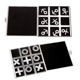 Set tic-tac-toe symbol of man and woman of Royalty Free Stock Image